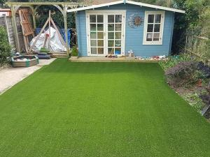 W-Shape Landscaping Grass Turf