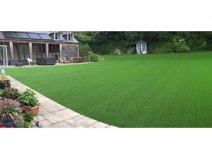 Flat-Shape Landscaping Grass Turf